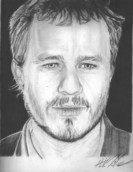 Heath Ledger by ninja_style